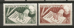 Timbre Monaco  En Neuf **  N 392/393 - Nuevos