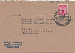 Dienst NSDAP Kreisleitung Volkswohlfahrt Hagenau 1943 > Heimleiterin Kriegsmüttererholungsheim Niederbronn - Officials