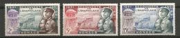 Timbre Monaco  En Neuf **  N  394/396 - Unused Stamps