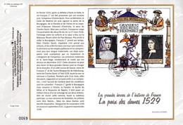 """2019 : (Faciale 5.20 €) """" LA PAIX DES DAMES """" Sur Feuillet CEF 1er Jour. N°YT  . Parfait état FDC - 2010-...."""