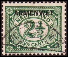 1913-1918. NEDERLAND. ARMENWET On 2½ CENT.  (Michel Di. 5) - JF413260 - Dienstpost