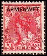 1913-1918. NEDERLAND. ARMENWET On 5 CENT.  (Michel Di. 7) - JF413263 - Officials