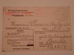 Carte Prisonnier De Guerre Oflag XVII A Doellersheim Goepfritz 1942 - 1939-45