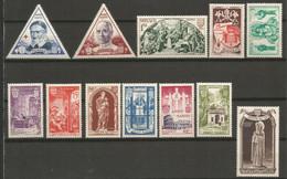 Timbre Monaco  En Neuf **  N  353/364 Séries Compléte - Unused Stamps