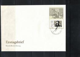 Deutschland / Germany 1988 Bertolt Brecht Michel Block 91 FDC - FDC: Briefe