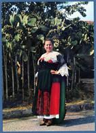 °°° Cartolina - Nicastro Costumi Calabresi Viaggiata (l) °°° - Catanzaro