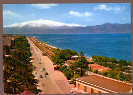 °°° Cartolina - Reggio Calabria Lungomare Viaggiata (l) °°° - Reggio Calabria