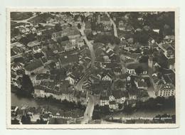 BRUGG VOM FLUGZEUG AUS GESEHEN 1933 VIAGGIATA FG - AG Aargau