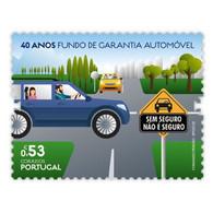 Portugal ** & 40 Years Automobile Guarantee Fund 2020 (2420) - Automobili