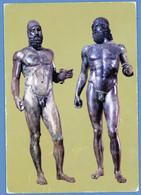 °°° Cartolina - Reggio Calabria Museo Nazionale I Grandi Bronzi Di Riace Viaggiata (l) °°° - Reggio Calabria