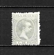 LOTE 2173 /// CUBA 1890 EDIFIL Nº: 127  *MH // CATALOG/COTE: 1,10€ ¡¡¡ OFERTA - LIQUIDATION - JE LIQUIDE !!! - Cuba (1874-1898)