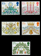GROSSBRITANNIEN 1980 Nr 856-860 Postfrisch X7C1EDE - Unused Stamps