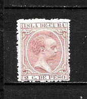 LOTE 2173 /// CUBA 1896  EDIFIL Nº: 147  *MH // CATALOG/COTE: 10,80€ ¡¡¡ OFERTA - LIQUIDATION - JE LIQUIDE !!! - Cuba (1874-1898)