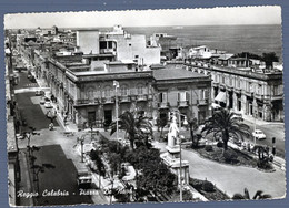 °°° Cartolina - Reggio Calabria Piazza De Nava Viaggiata (l) °°° - Reggio Calabria