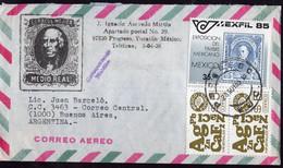 Mexico - Lettre - 1985 - Envoyé En Argentina - A1RR2 - Mexique