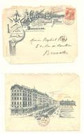 Hôtel De L'Espérance - Place De La Constitution - Bruxelles - Gare Du Midi - 1907 - Unclassified