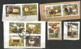 PROMOTION   1008/10016  Série Boite Aux Lettres  Sur Fragments   Beaux Cachets     (clasfdc Vert 1) - Non Classés