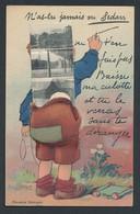 CPA Leporello Sedan, N`as-tu Jamais..., Knabe Avec Hosenboden Voller Ansichtskarten Der Ortschaft - Sedan