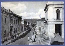 °°° Cartolina - Reggio Calabria Corso Garibaldi Palazzo Del Comune Viaggiata (l) °°° - Reggio Calabria