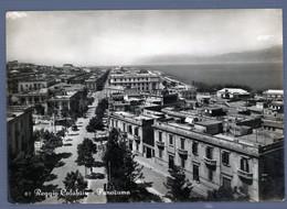 °°° Cartolina - Reggio Calabria Panorama Viaggiata (l) °°° - Reggio Calabria
