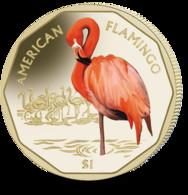 British Virgin Islands Coin 2019 - American Flamingo - British Virgin Islands