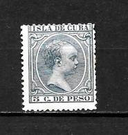 LOTE 2173 /// CUBA 1896  EDIFIL Nº: 149 *MH ¡¡¡ OFERTA - LIQUIDATION - JE LIQUIDE !!! - Cuba (1874-1898)