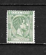 LOTE 2173 /// CUBA 1878  EDIFIL Nº: 47 *MH ¡¡¡ OFERTA - LIQUIDATION - JE LIQUIDE !!! - Cuba (1874-1898)