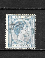 LOTE 2173 /// CUBA 1878  EDIFIL Nº: 44  ¡¡¡ OFERTA - LIQUIDATION - JE LIQUIDE !!! - Cuba (1874-1898)