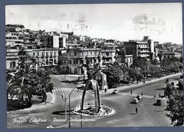 °°° Cartolina - Reggio Calabria Piazza Indipendenza Viaggiata (l) °°° - Reggio Calabria