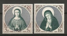 Timbre Monaco  En Neuf **  N 437/438 - Unused Stamps