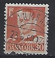 Denmark  1952  Frederik IX  (o) Mi.334 (cancelled LUMSÅS) - Used Stamps