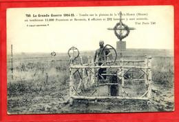 * La Grande Guerre 1914-15 - Tombe Sur Le Plateau De La Vaux-Marie... - 1916 - Sin Clasificación