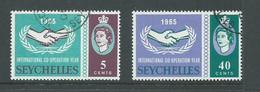 Seychelles 1965 ICY Set 2 FU Cds - Seychelles (...-1976)
