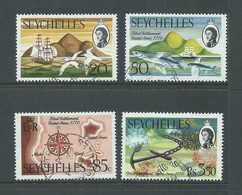 Seychelles 1970 St Anne Settlement Anniversary Set 4 FU Cds - Seychelles (...-1976)