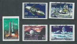 Seychelles 1969 Moon Landing Set Of 5 FU Cds - Seychelles (...-1976)
