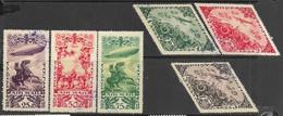 Tannu Tuva   1936   Sc#C13-8  Airmails Used  2016 Scott Value $21.50 - Tuva