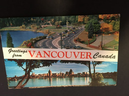 (FF 36) Canada - Posted To Tasmania Australia In 1958- Vancouver Greetings - Vancouver