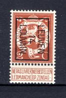 PRE52B MNH** 1914 - LEUVEN 14 LOUVAIN - Typo Precancels 1912-14 (Lion)