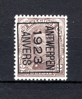 PRE68B-III MNH** 1923 - ANTWERPEN 1923 ANVERS - Typo Precancels 1922-26 (Albert I)