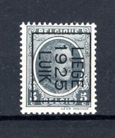 PRE126B MNH** 1925 - LIEGE 1925 LUIK - Typo Precancels 1922-31 (Houyoux)