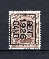 PRE130B-II MNH** 1926 - GENT 1926 GAND - Typo Precancels 1922-26 (Albert I)