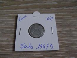 50 Centimes MORLON 1947 B Alu En L état Sur Les Photos ( La Pièce Envoyée Correspond Exactement Aux Photos ) - G. 50 Centesimi
