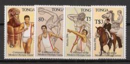 Tonga - 1996 - N°Yv. 1049 à 1052 - Olympics / Atlanta - Neuf Luxe ** / MNH - Estate 1996: Atlanta