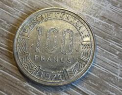 100 Francs Gabon 1972 En L Etat Sur Les Photos - Gabon