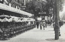 CPSM 75 PARIS 14e Station De Métro VAVIN édicule GUIMARD Ligne N° 4 Du Métropolitain La Rotonde 1933 Ed. A. Leconte - District 14