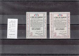Variété - YT 1408 B (**) Papier Bleuté - Variedades: 1960-69 Nuevos
