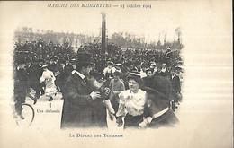 Marche Des Midinettes 25 Octobre 1903  Le Départ Des Tuileries CPA 1913 - Manifestations