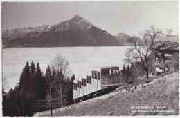 Beatenberg-Bahn Mit Niesen Und Nebelmeer -  (Suisse/Schweiz/CH) - Trains