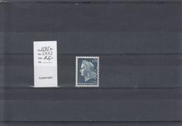 Variété - YT 1535 A (**) N° Rouge - Variedades: 1960-69 Nuevos