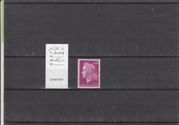Variété - YT 1536 B (**) N° Rouge - Variedades: 1960-69 Nuevos